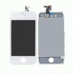 IPHONE 4G LCD +TOUCH SCREEN WHITE AAA