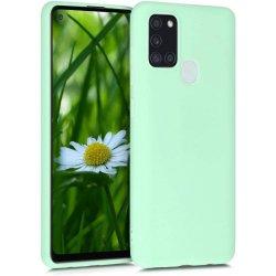 Samsung Galaxy A21S A217 Silicone Case Mint Green