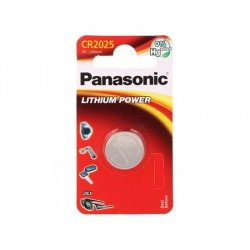 Panasonic Alkaline Battery CR2025 Blister
