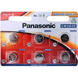 Panasonic Alkaline Battery CR2025 6 Pcs Blister
