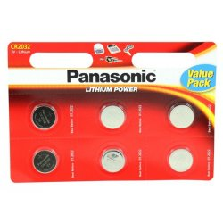 Panasonic Alkaline Battery CR2032 6 Pcs Blister