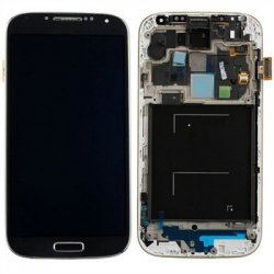 Samsung i9505 / Galaxy S4 Frontcover + Lcd + Touch Deep Black Original