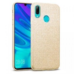 Huawei Y7 2019 Back Glitter Case Gold
