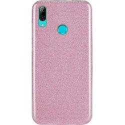 Huawei Y7 2019 Back Glitter Case Pink