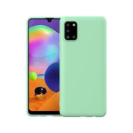 Samsung Galaxy A71 A715 Silicone Case Mint Green