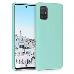 Samsung Galaxy A71 A715 Silicone Case Turquoise