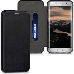 Samsung Galaxy A20S A207 Book Case Magnet Hard Black