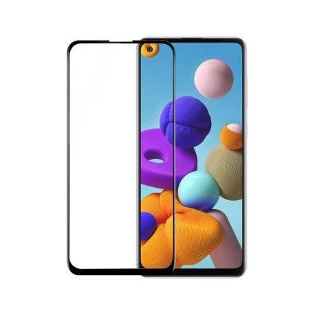 Samsung Galaxy A21/A21S A217 Tempered Glass 9H Full Screen Black