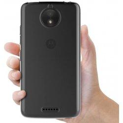 Motorola Moto C Plus Silicone Case Transperant Smoke