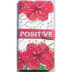 Huawei Mate 20 Lite Book Case Positive Flower & Strash