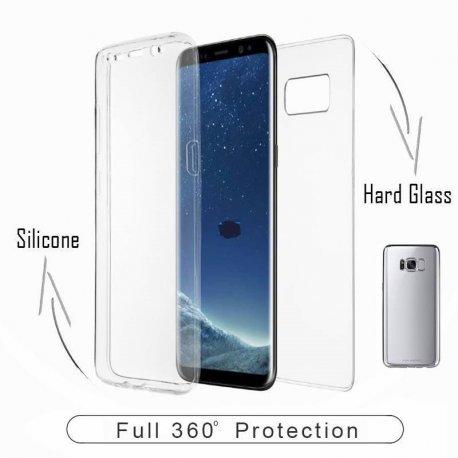 Huawei Mate 20 Lite 360 Degree Full Body Case Silver