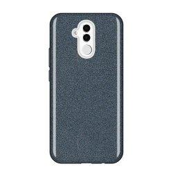 Huawei Mate 20 Lite Back Glitter Case Black