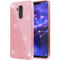 Huawei Mate 20 Lite Back Glitter Case Pink