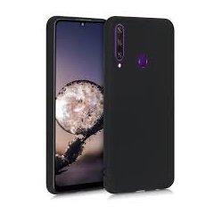 Huawei Y6P Silicone Case Black