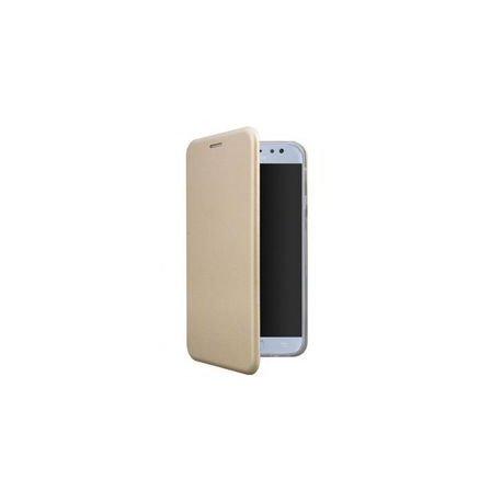 Huawei P Smart S Book Case Magnet Hard Gold