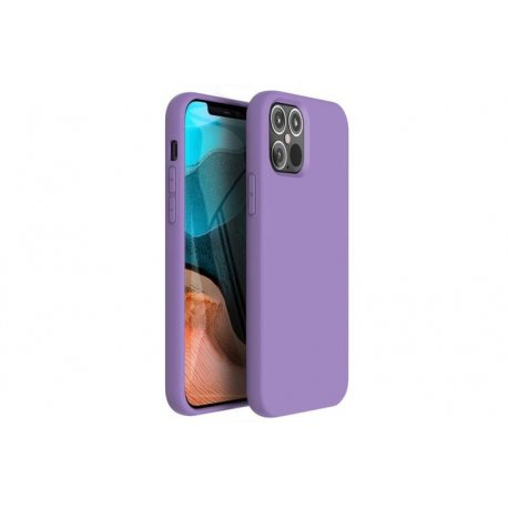 IPhone 12 Silky And Soft Touch Silicone Cover Purple