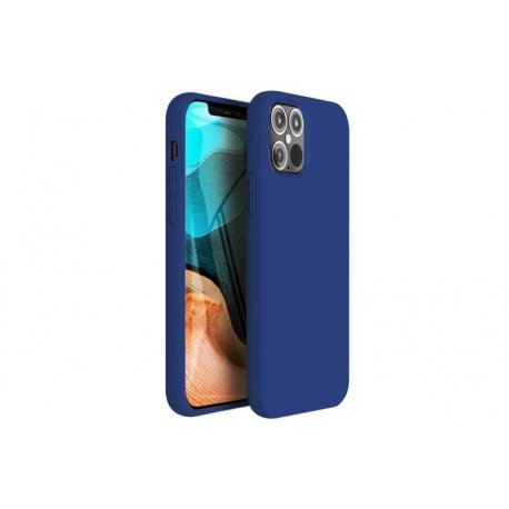 IPhone 12 Pro Silky And Soft Touch Silicone Cover Blue