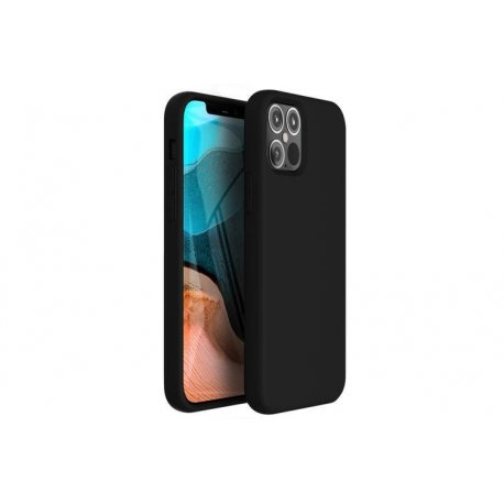 IPhone 12 Pro Max Silky And Soft Touch Silicone Cover Black