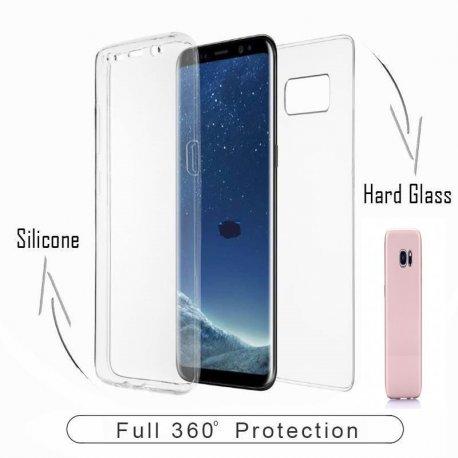 Samsung Galaxy A21S A217 360 Degree Full Body Case RoseGold