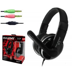 Ovleng X7 3.5mm Stereo Wire Headset