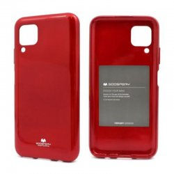Huawei P40 Lite Mercury Pearl Jelly Case Red
