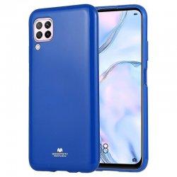 Huawei P40 Lite Mercury Pearl Jelly Case Blue