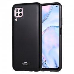 Huawei P40 Lite Mercury Pearl Jelly Case Black