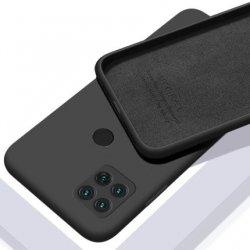 Xiaomi Redmi 9C Silky And Soft Touch Silicone Cover Black