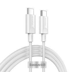 Baseus CATSW-D02 Cable Xiaobai Series Type-C To Type-C 100W 1.5M White