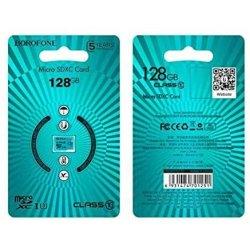 Borofone MicroSD 128GB Class 10 High Speed Memory Card
