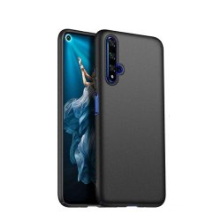 Huawei Honor 20/Nova 5T Silicone Case Black