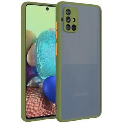 Samsung Galaxy A31 A315 Colored Buttons Case Green