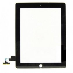IPad 2 Touch Screen Black(with glue and home button)