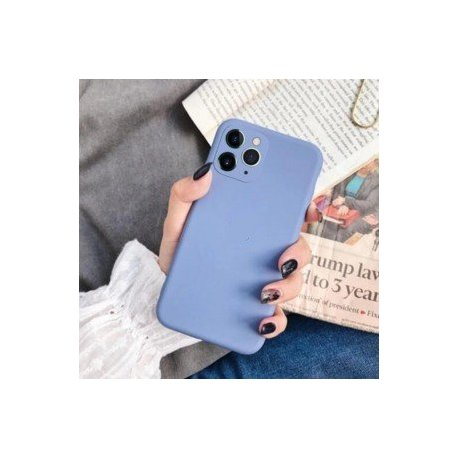 IPhone 11 Pro Max Sillicone Case Camera Protect Navy Blue