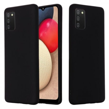 Samsung Galaxy A72 A725 Silicone Case Black