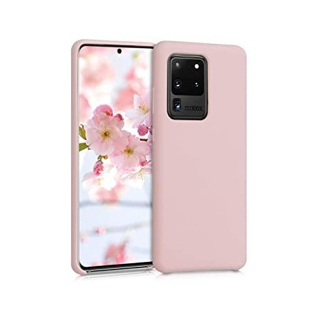 Samsung Galaxy A72 A725 Silicone Case Light Pink
