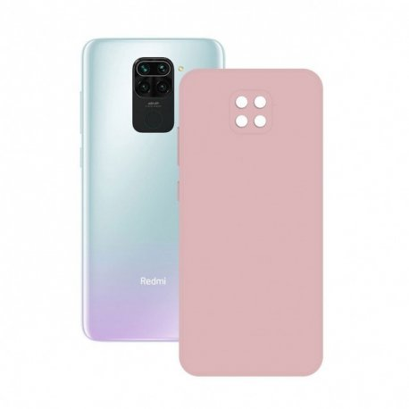 Xiaomi Redmi Note 9T Silicone Case Full Camera Protection Light Pink