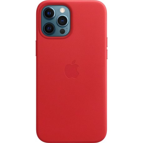 IPhone 12/12 Pro Leather Oem Case Red