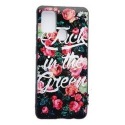 Samsung Galaxy A21S A217 Electroplated Case Rose Garden
