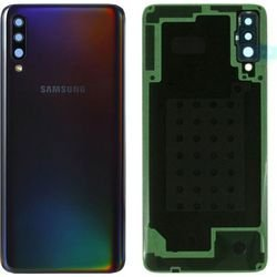 Samsung Galaxy A30S A307 Battery Cover+Camera Lens Black