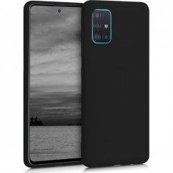 Samsung Galaxy A52 A525 Silicone Case Black