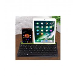 MBaccess RK908 Three System General Bluetooth Keyboard Black