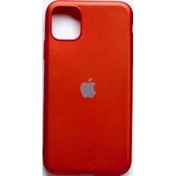 IPhone 11 Pro Max Silicone Case Super Slim Red