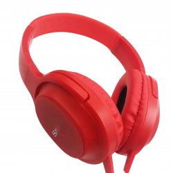 MBaccess MDR-XB750AP Wired Headset With Microphone Red