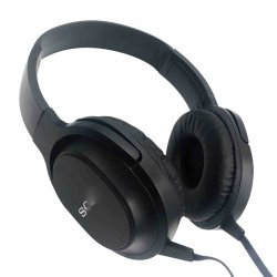 MBaccess MDR-XB750AP Wired Headset With Microphone Black