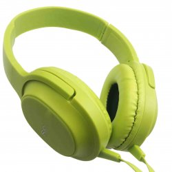MBaccess MDR-XB750AP Wired Headset With Microphone Green