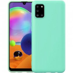 Samsung Galaxy A52 A525 Silicone Case Super Slim Mint