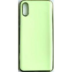 Xiaomi Redmi 9A/9AT Silicone Plate Executive Case Green