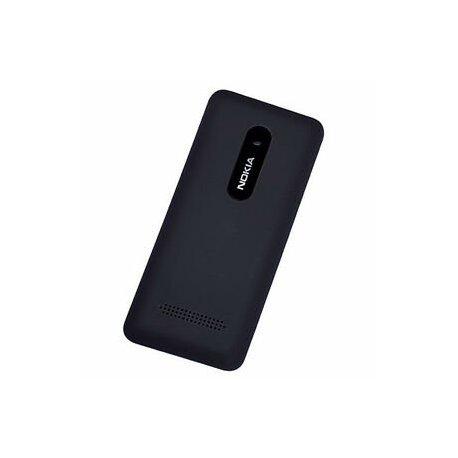 Nokia 206 Battery Cover Black