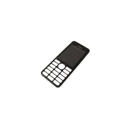 Nokia 206 Front Cover Black